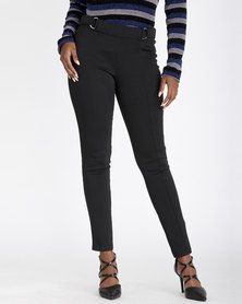 Contempo Pont Leggings Black