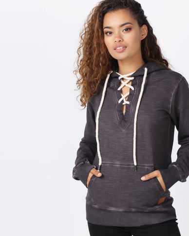 Lizzy Margaux Hoodie Charcoal Grey