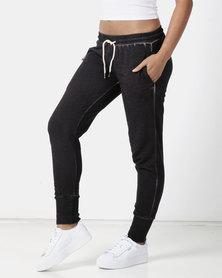 Lizzy Aicha Track Pants Black