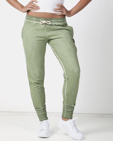Lizzy Aicha Track Pants Olive