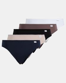 Playtex 5 Pack Premium Hi-cut Panty Multi