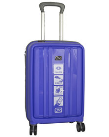 GIO 20 Inch Carry-On Suitcase -Violet
