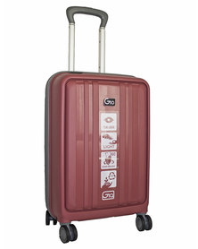 """Gio eco PP 20"""" suitcase - Dusty pink"""