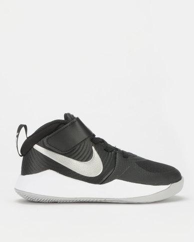 best website 03fa4 7610a Nike Team Hustle D 9 PS Sneakers Black