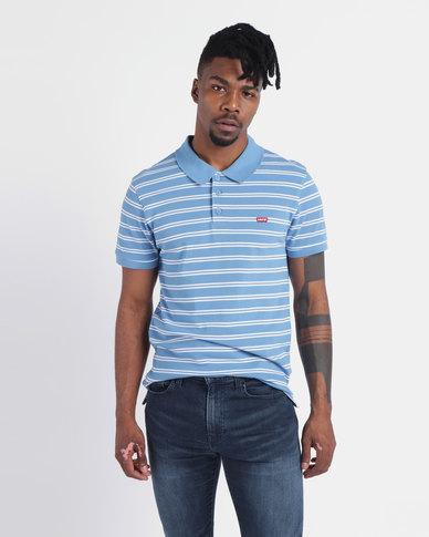 Levi's ® Ama Housemark Polo Shirt Splash Parisian Blue