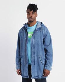 Levi's ® Fishtail Parka Jacket Indigo Stone