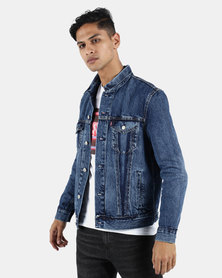 Levi's ® Inside Out Trucker T3 Outie Jacket Blue