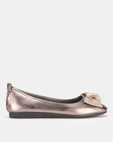 Butterfly Feet Lily Pump Pewter