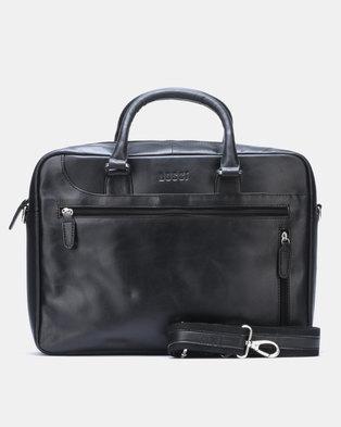 Bossi Vintage Laptop Bag Black