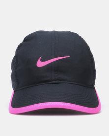 NIKE Y NK AEROBILL FTHRLT CAP Black