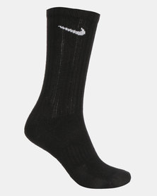 Nike Y NK Everyday Crush Crew 3PK Socks Black