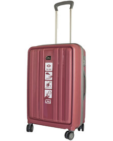 """Gio Eco PP 24"""" suitcase- Dusty pink"""