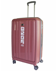 """Gio Eco PP 28"""" suitcase-Dusty Pink"""