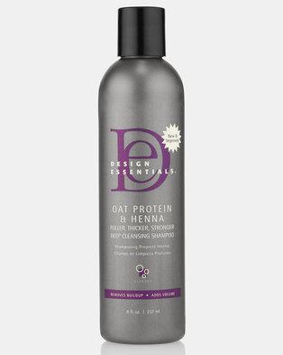 Oat Protein & Henna Deep Cleansing Shampoo by Design Essentials