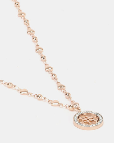 b1773faed0 Guess Tropical Sun Chain Rose Gold-Plated | Zando