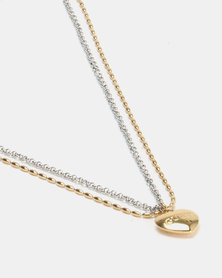 Guess Unchain my Heart 2 Tone Gold/Silver-Plated