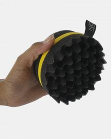 Niche Accessories Mini Twist Curl Sponge Yellow
