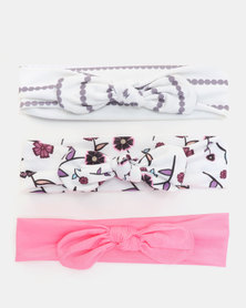 Bugsy Boo Floral Headbands Multi