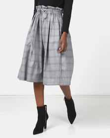 Utopia Check Skirt Multi