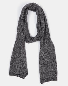 St Goliath Space Scarf Charcoal