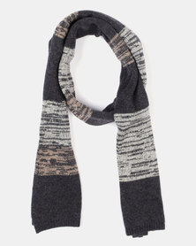 St Goliath West Scarf Black/Charcoal