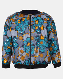 Kieke Bomber Jacket With Fleece Multi