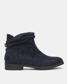 Franco Ceccato Ankle Boots Navy