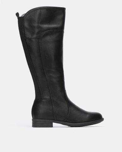Franco Ceccato Mid Calf Boots Black