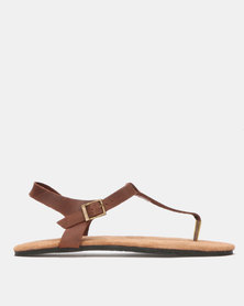 John Buck Emily Louise Chloe Sandals Brown