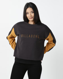 Billabong Off Path Crew Sweatshirt Black