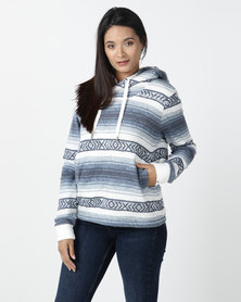 Billabong Baja Pop Hoody Blue