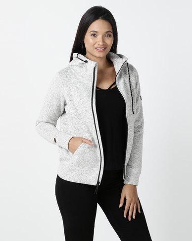 Billabong Boundary Zip up Sweatshirt Grey