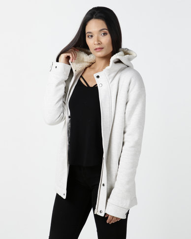 Billabong Kharlo Hooded Jacket Grey