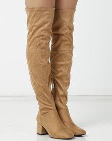 e86d2541a4cb Over-The-Knee Boots | Women | Online | South Africa | Zando