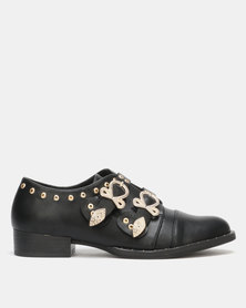Utopia Studded Monks Black