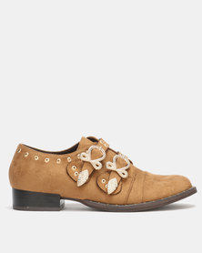Utopia Studded Monks Brown