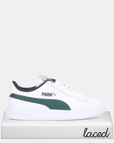 Puma Smash v2 L PS Sneakers White/Green