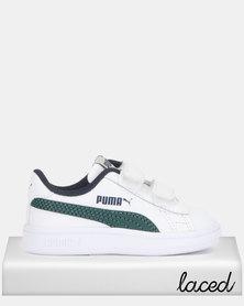 Puma Smash v2 L V Inf Sneakers White/Green