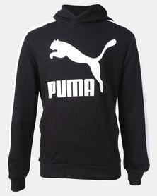 Puma Classics Hoodie Sweatshirt Black