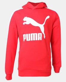 Puma High Risk Classics Hoodie Sweatshirt Red