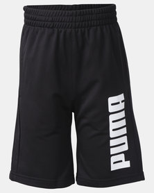 Puma Tricot Boys Shorts Black