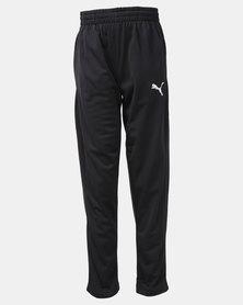 Puma ZA Boys Tricot Track Pants Black