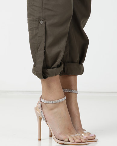 Public Desire Inspo Heels Nude Patent