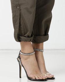 Public Desire Inspo Heels Black Patent