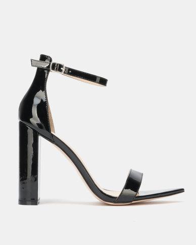 Public Desire Miao Heels Black Patent