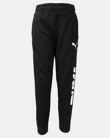 Puma Cotton Alpha Sweat Pants Black