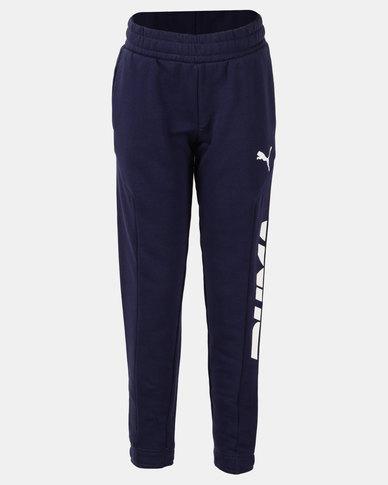 Puma Peacoat Alpha Sweat Pants Blue
