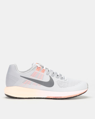 finest selection 22dc7 20cb8 Nike Performance Women's Nike Air Zoom Structure 21 Running Shoe Grey