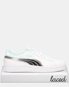 Puma Smash v2 Mermaid Jr Sneakers White