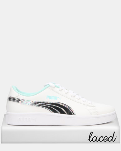 Puma Smash v2 Mermaid Jr Sneakers White